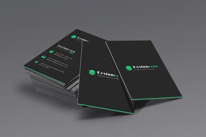 Thumbnail for DesignCore - Business Card Template