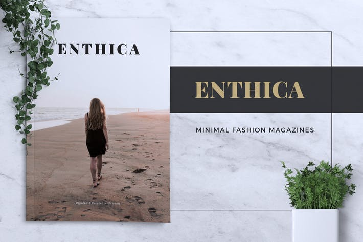 Thumbnail for ENTHICA / Fashion Magazine
