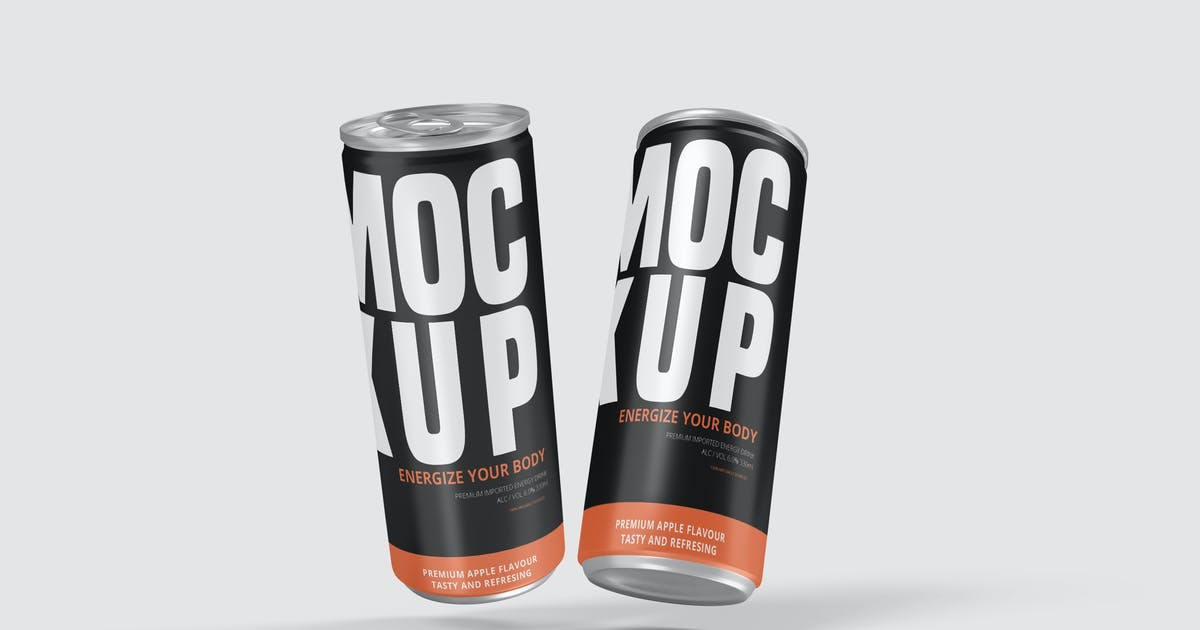 Download Softdrink Can Product Mockup Vol. 2.1 by indotitas