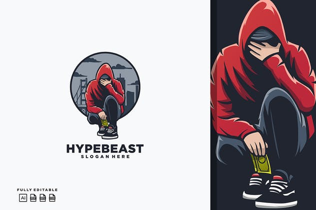 Hypebeast Boy Logo
