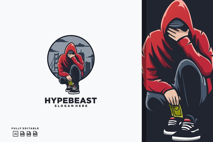 Thumbnail for Hypebeast Boy Logo