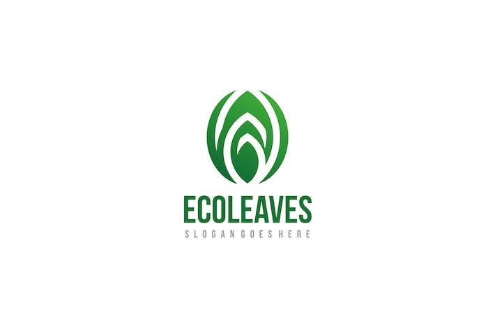 Thumbnail for Eco Leaf Logo