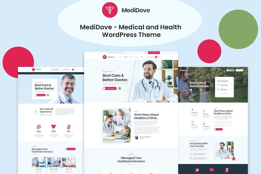 MediDove - Medical and Health WordPress Theme