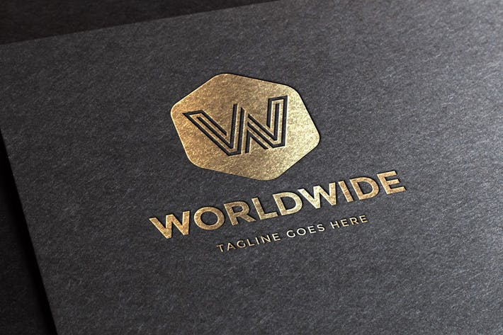 Thumbnail for Worldwide Letter W Logo Template