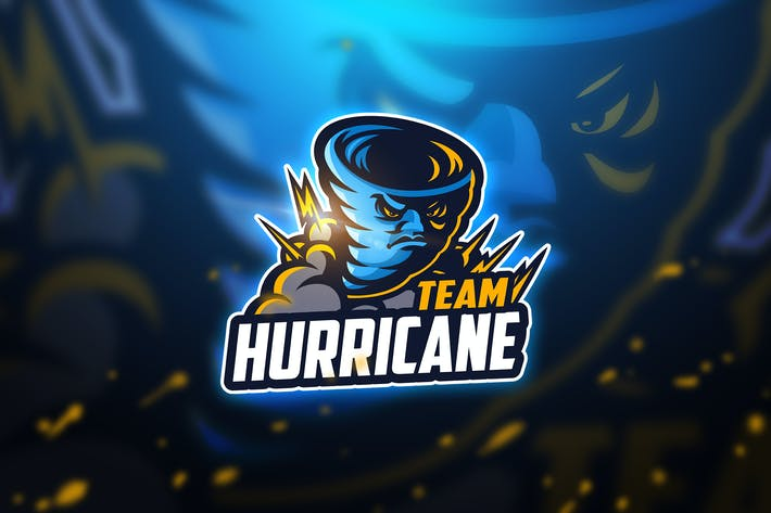 Thumbnail for Huricane - Mascot & Esport Logo