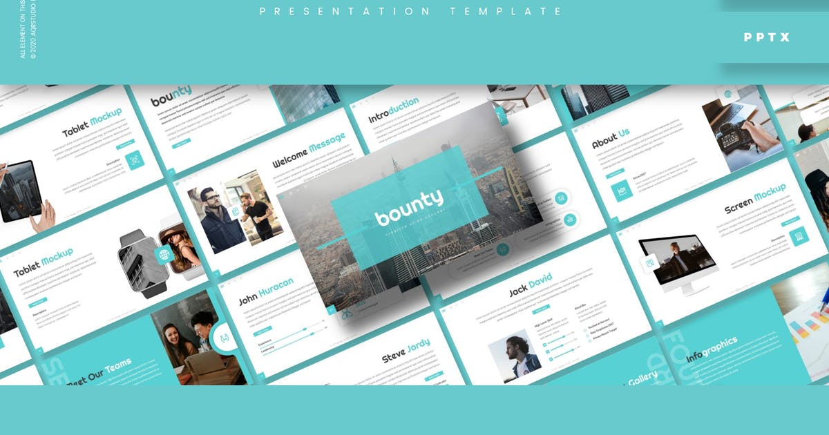 Download Bounty - Presentation Template by aqrstudio