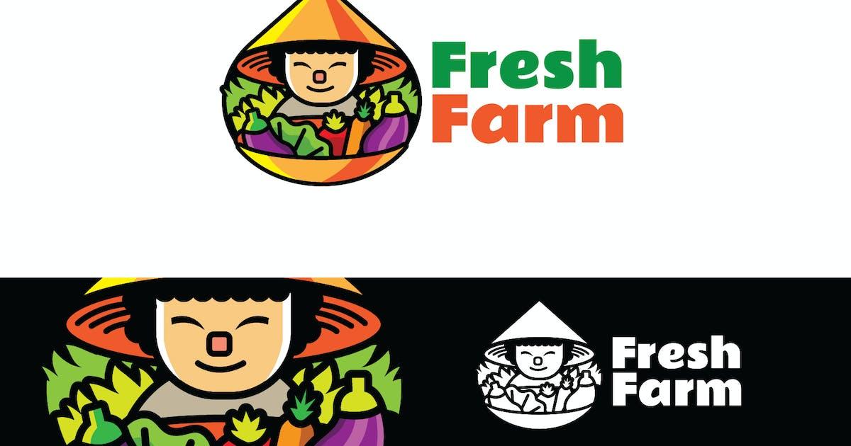 Download Fresh  Farm - Mascot Logo by aqrstudio