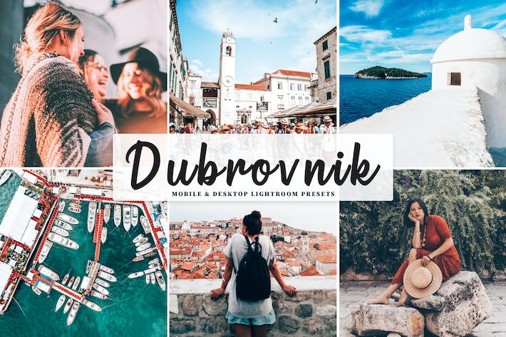 Thumbnail for Dubrovnik Mobile & Desktop Lightroom Presets