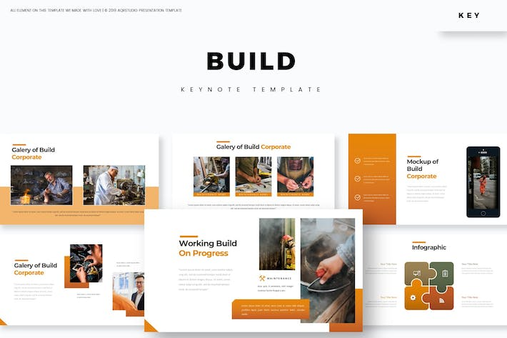 Thumbnail for Builds - Keynote Template