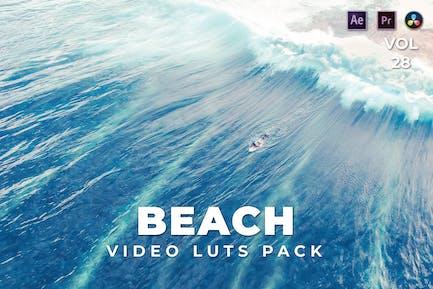 Beach Pack Video LUTs Vol.28