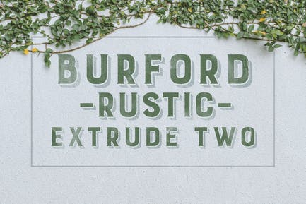 Burford Rustic Extrude Two