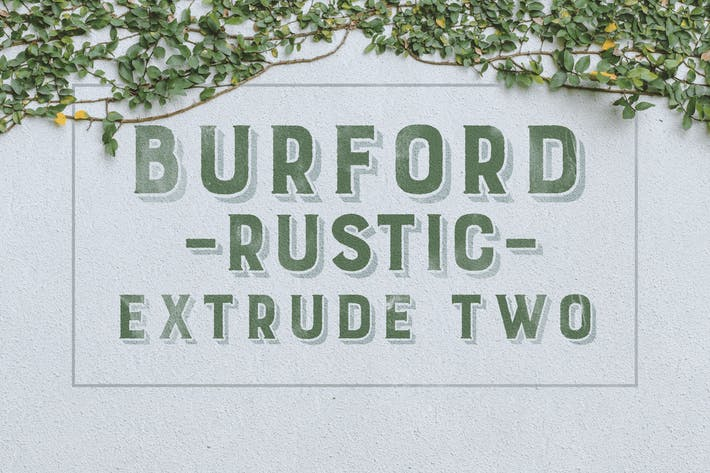 Thumbnail for Burford Rustic Extrude Two