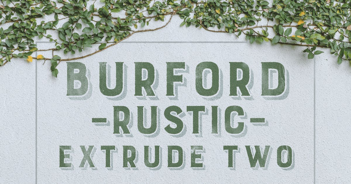 Download Burford Rustic Extrude Two by kimmydesign