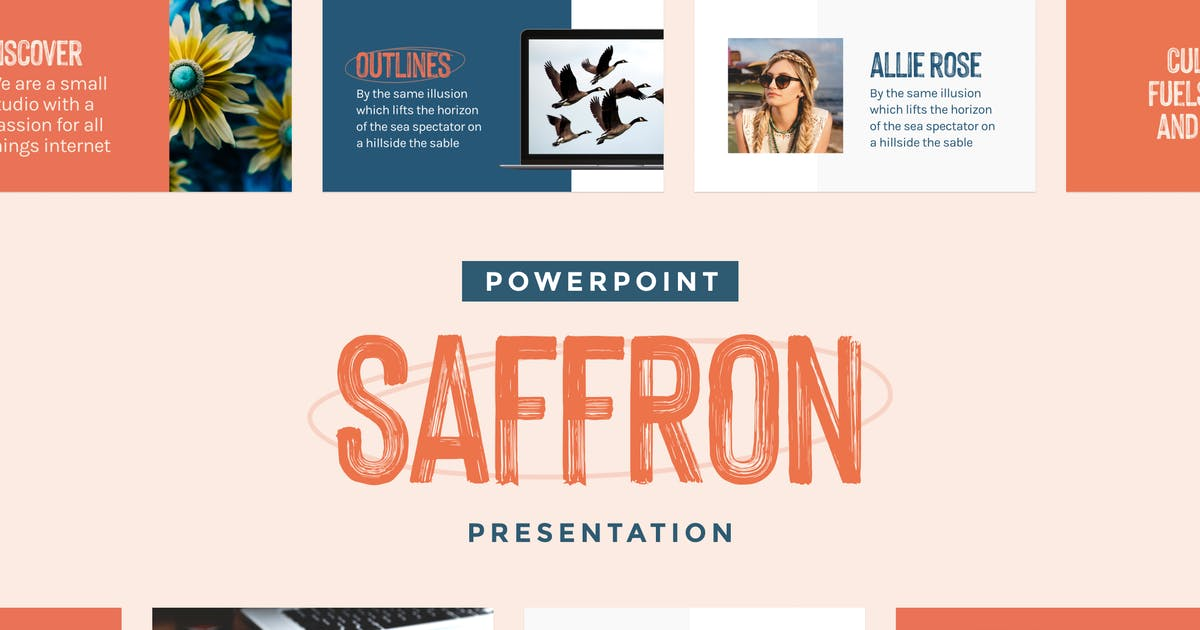 Download Saffron — Powerpoint Presentation Template by furnace