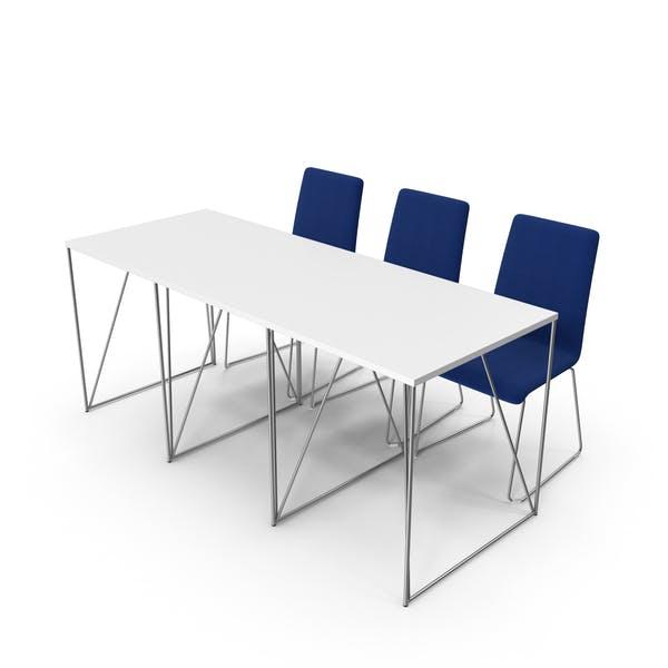 Thumbnail for Konferenz-Bürotisch und Stühle
