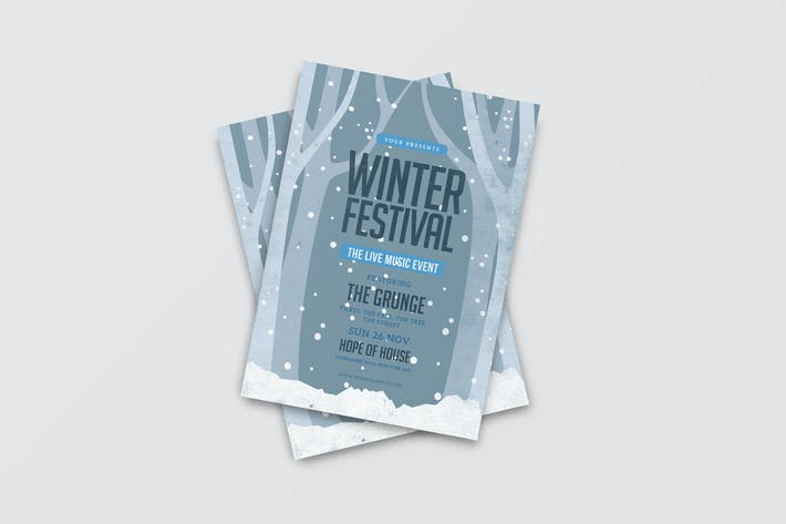 Thumbnail for Winter Festival Flyer