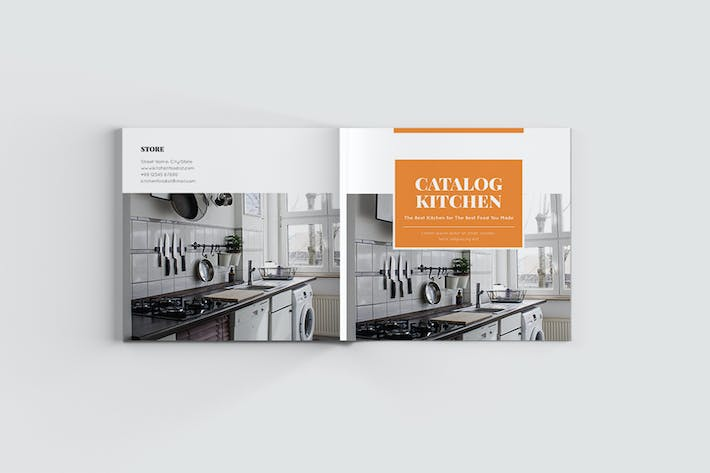 Cover Image For Square Kitchen Catalog