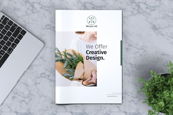 Thumbnail for Business Brochure Template Vol. 02