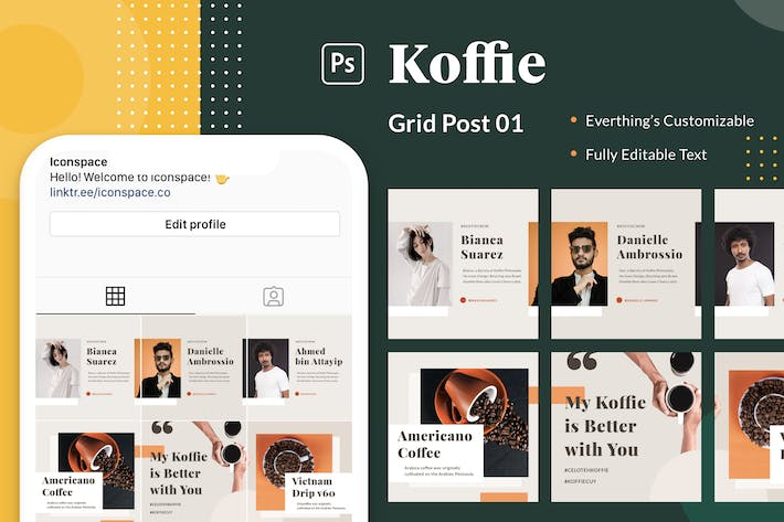 Thumbnail for Koffie Grid - Series 01