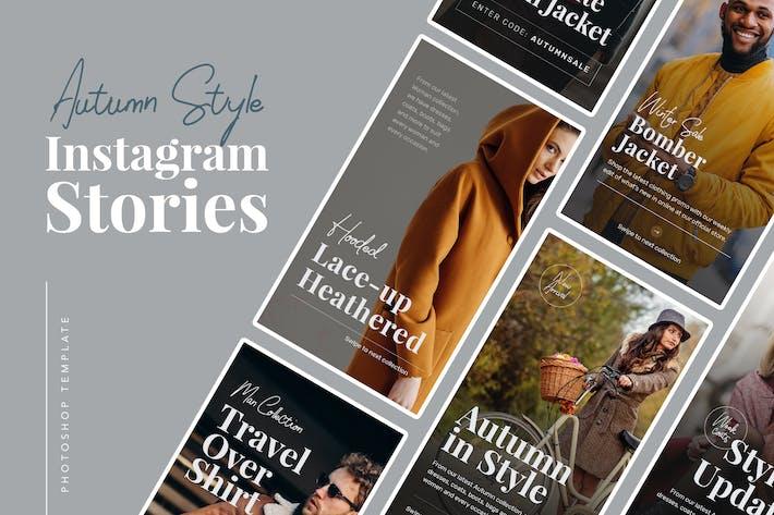 Thumbnail for Histoires Instagram d'automne