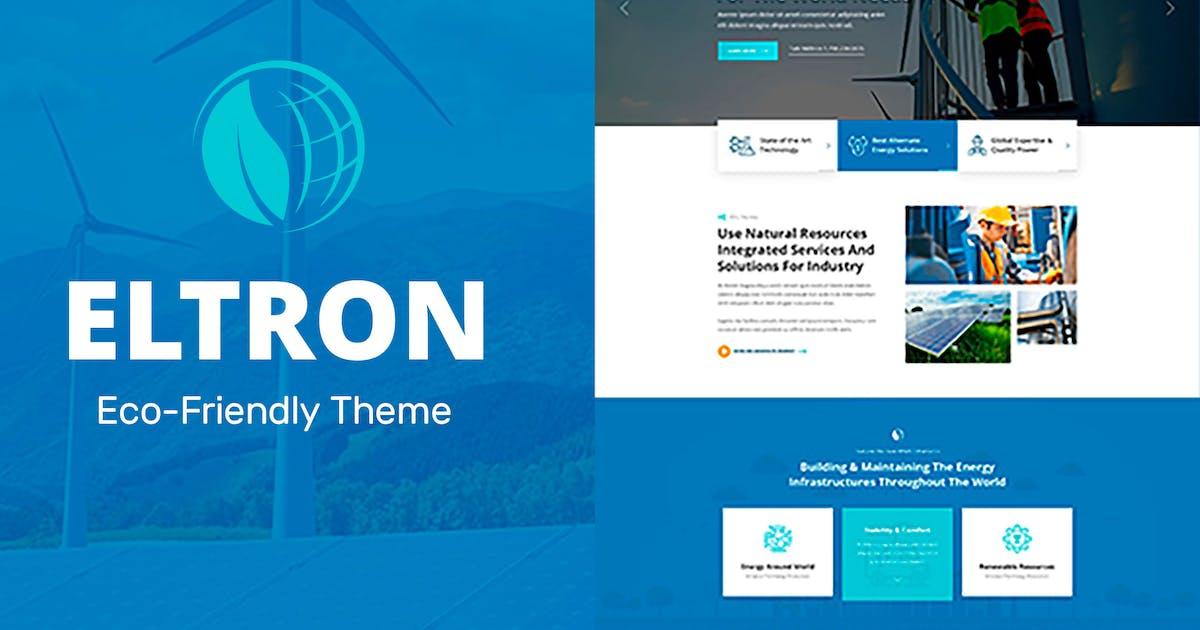 Download Eltron - Solar Energy Elementor WordPress Theme by Templatation