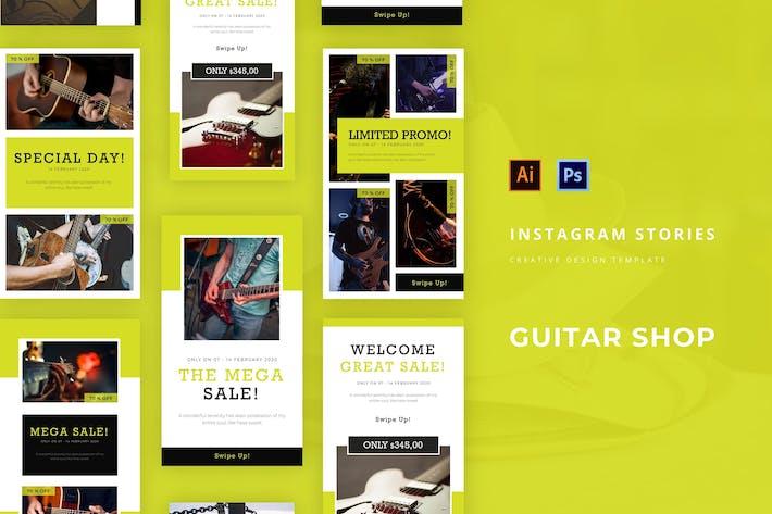 Thumbnail for Guitar Shop Instagram Story