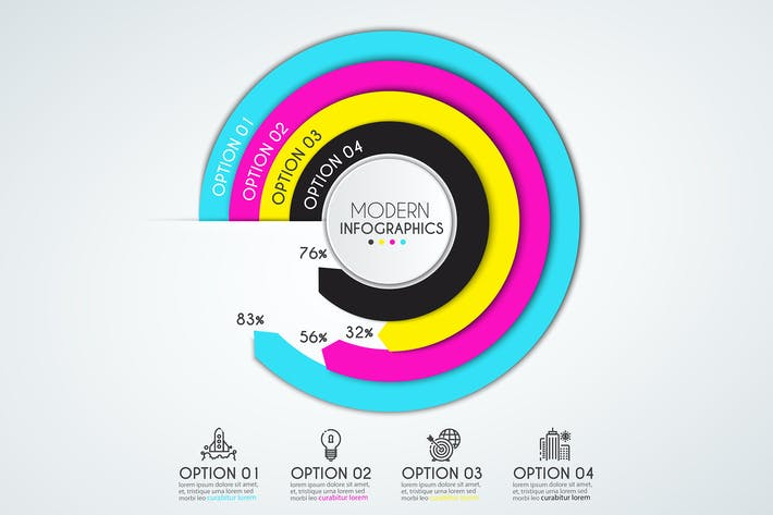 Thumbnail for Infographics Design Template
