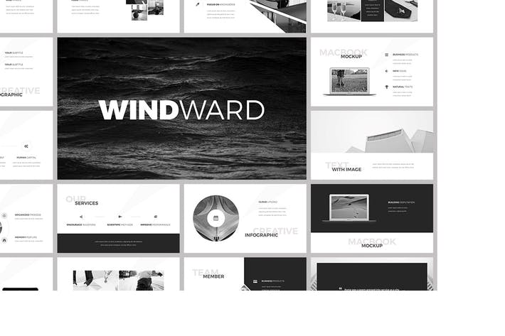 Thumbnail for WindWard Presentation Template