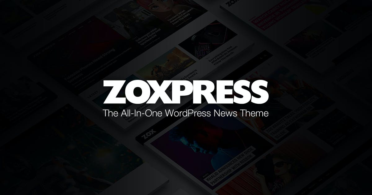 Download ZoxPress - The All-In-One WordPress News Theme by MVPThemes