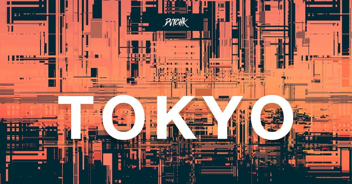Download Tokyo  City Glitch Backgrounds   Vol. 09 by devotchkah