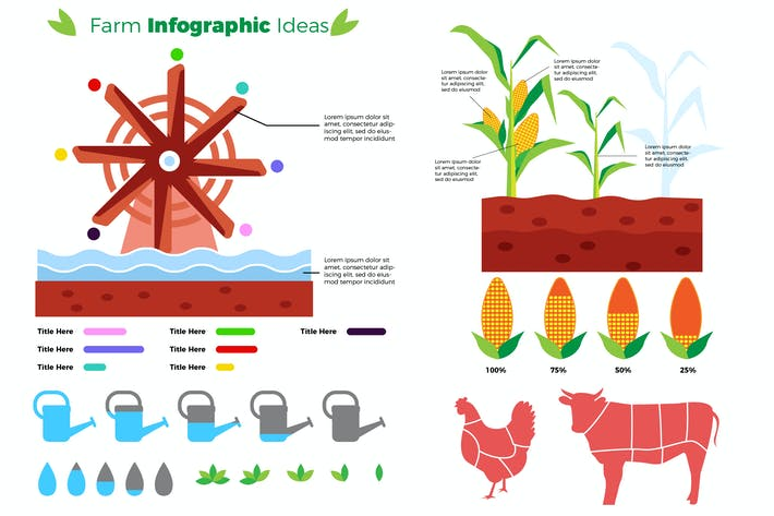 Thumbnail for Farm - Infographic
