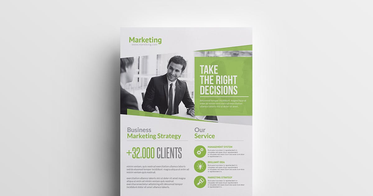 Download Marketing Business Flyer by Unknow