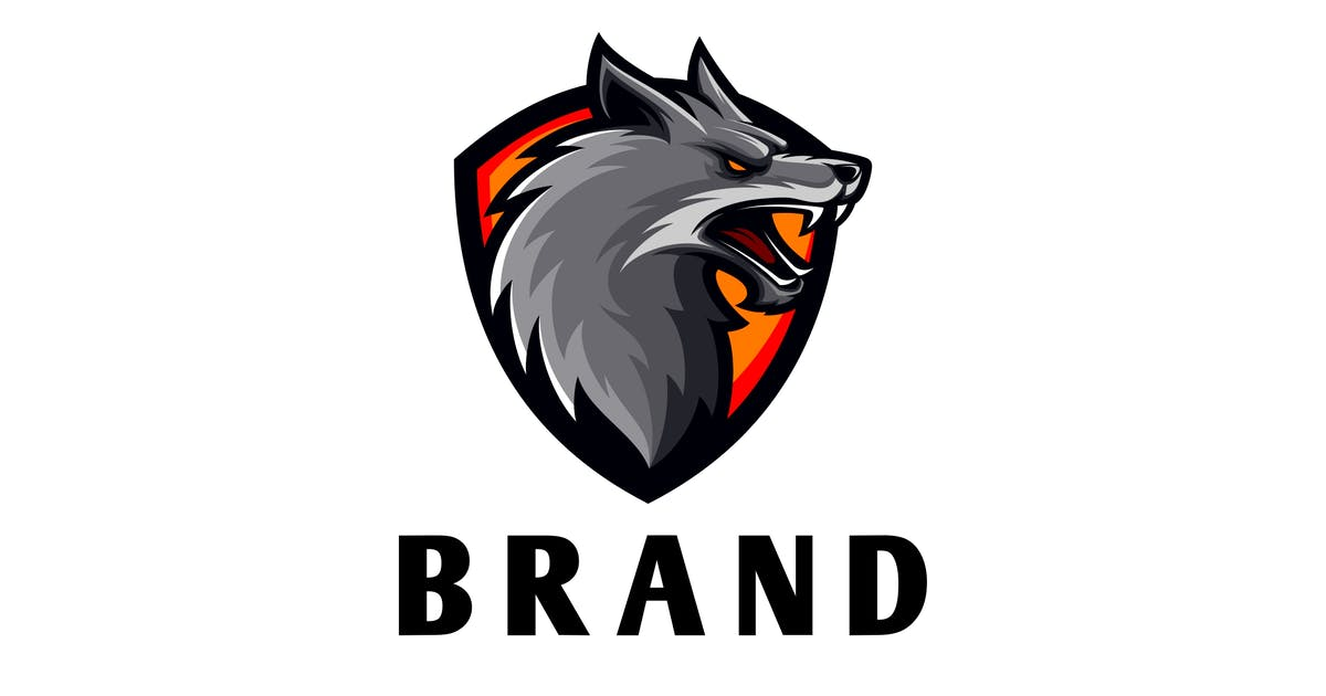 Download 0R Wolf Shield Logo by Voltury