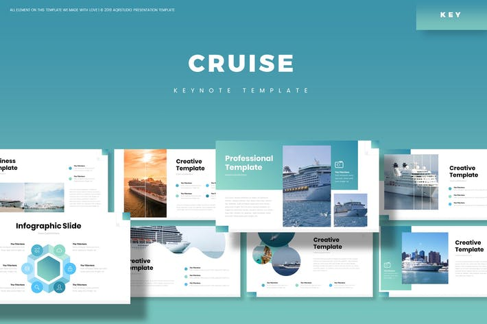 Thumbnail for Cruise - Keynote Template