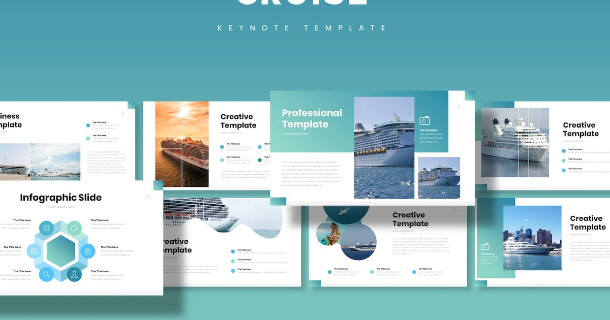 Download Cruise - Keynote Template by aqrstudio