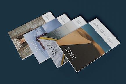 Four Magazine Mockup