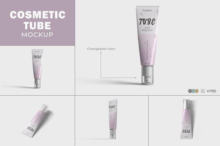 Thumbnail for Cosmetic Tube Mockups V.4