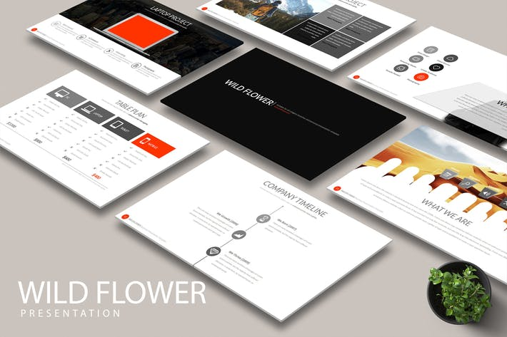 Thumbnail for WILD FLOWER Google Slides