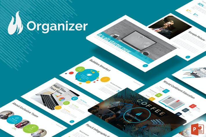 Thumbnail for Organizer - Powerpoint Template