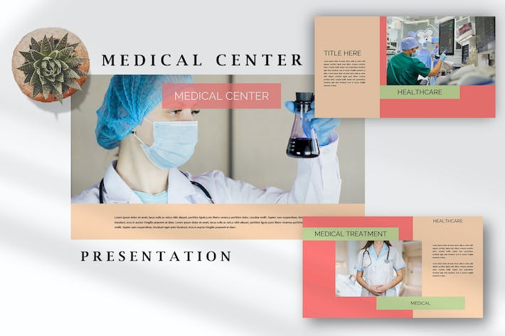 Medical Health Center - Covid PowerPoint Template