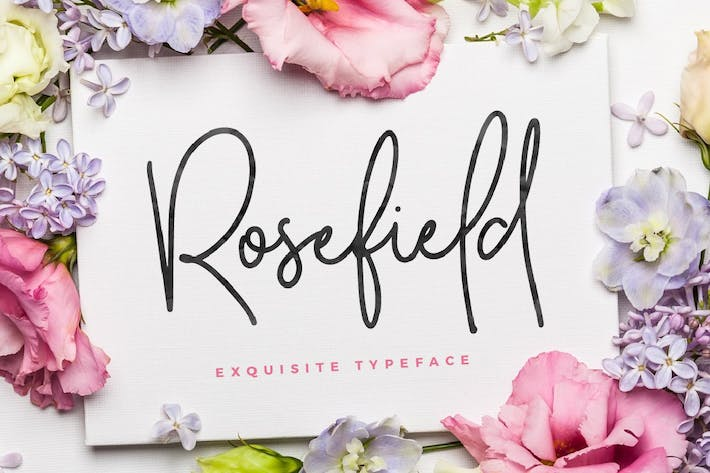 Thumbnail for Rosefield Typeface