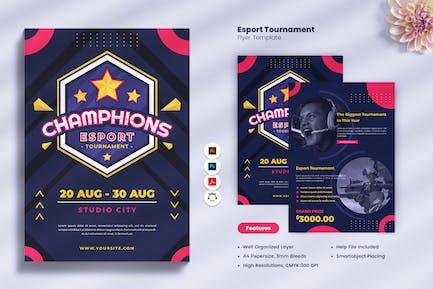 Esport Tournament Flyer