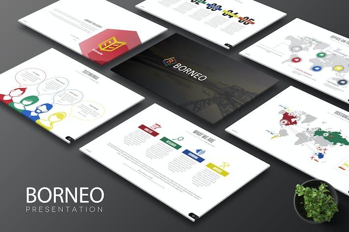 Thumbnail for Borneo - Keynote Template