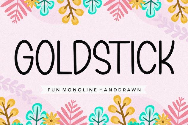 Goldstick YH - Sans Serif Font - product preview 0