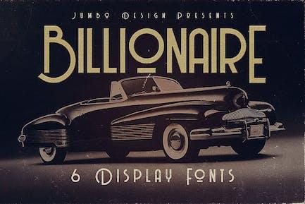 Billionaire - Fuente de visualización