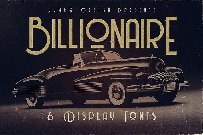 Thumbnail for Billionaire - Display Font