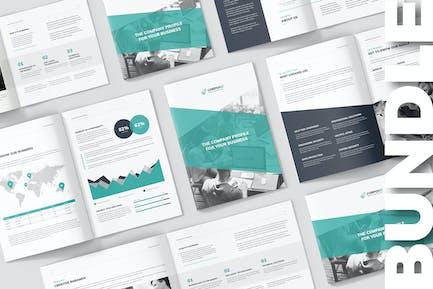 CorpoBiz – Company Profile Bundle 3 in 1