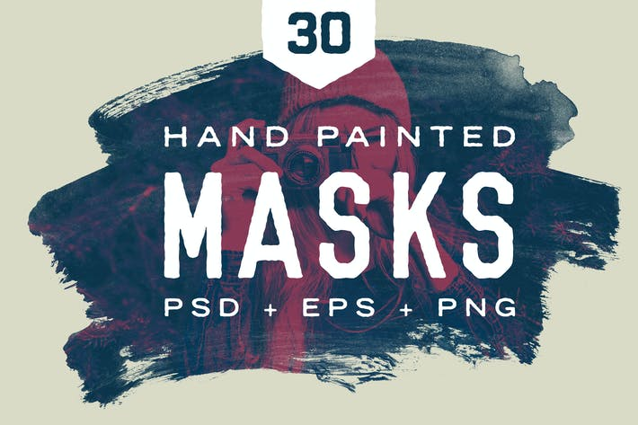 Thumbnail for Hand Painted Masks