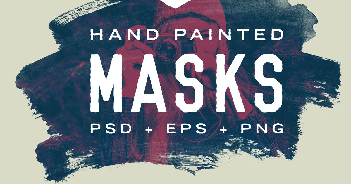Download Hand Painted Masks by Unknow