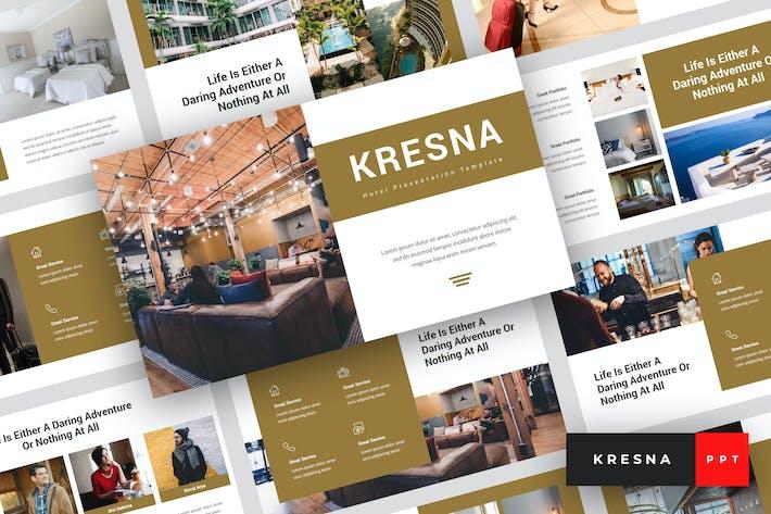 Thumbnail for Kresna - Hotel PowerPoint Template